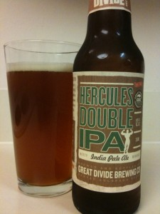 Hercules Double IPA by Great Divide Brewing Co