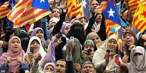 Image result for separatistas catalanes