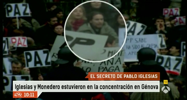 Image result for pablo iglesias 11 m