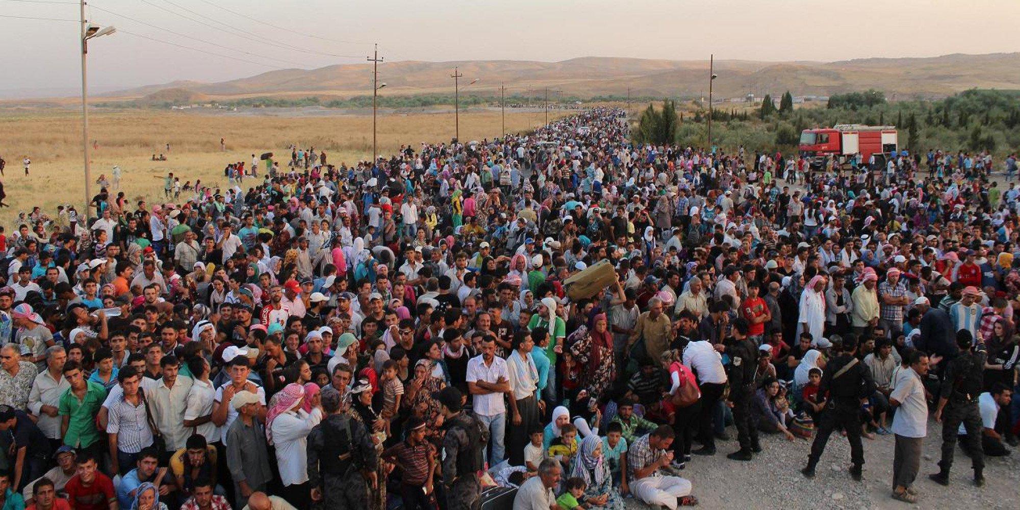 Resultado de imagen de refugiados sirios