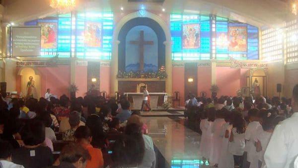 La Catedral de St. Mary's en Marawi
