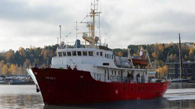 """""""Defend Europe"""", el barco fletado por """"Generación Identitaria"""" para impedir la llegada de inmigrantes ilegales a suelo europeo."""