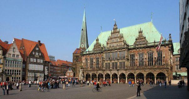 El Ayuntamiento de la localidad alemana de Bremen.