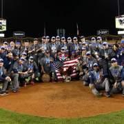 EUA es campeón mundial de béisbol