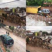 Explosión de tanque de gas destruye vivienda y deja 1 muerto, en Tequis