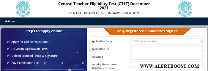 CTET 2021 APPLICATION