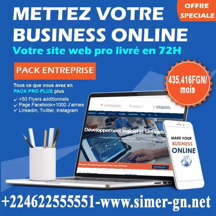Meilleur Agence de Création de Site Internet en Guinée