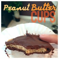 Protein Peanut Butter Cups {Clean Eating}