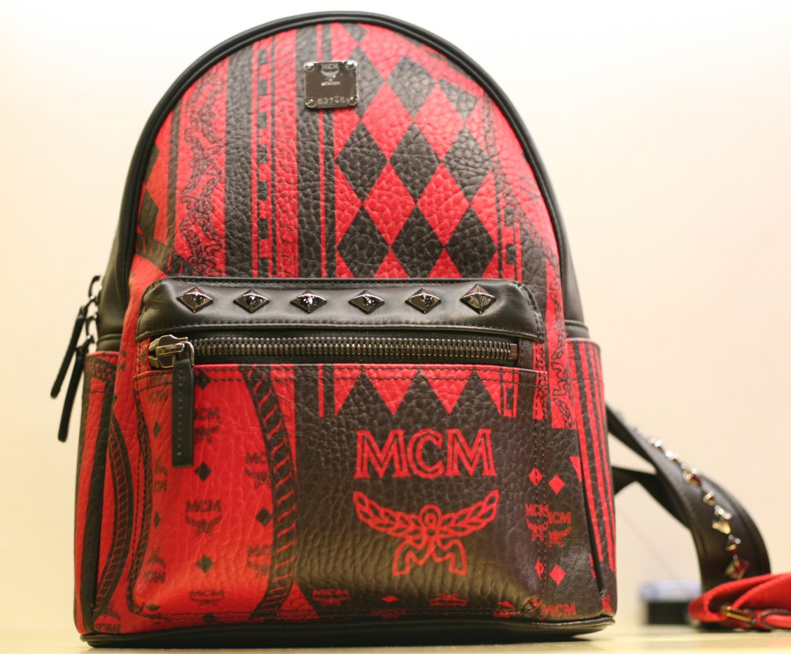 backpack-mcm-red