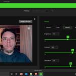 Razer Kiyo Effect Vibrant webcam ring led