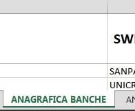 ANAGRAFICA BANCHE