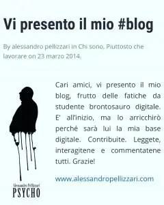 L'icona del mio blog ideata dall'amico e collega Andrea Truzzi