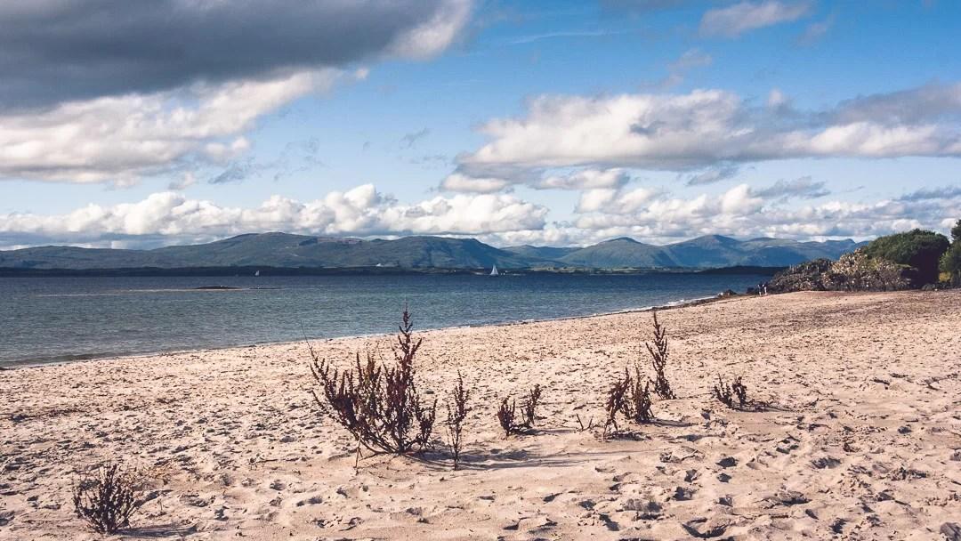 Scozia - Gavanan Bay vicino a Oban