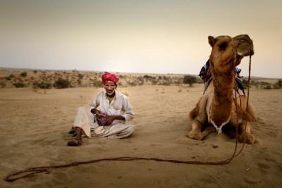 Jaisalmer desert, India