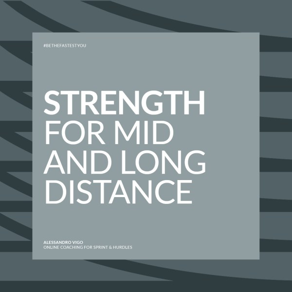 Alessandro Vigo | Online Coaching for Sprint & Hurdles – Strength for Mid and Long Distance