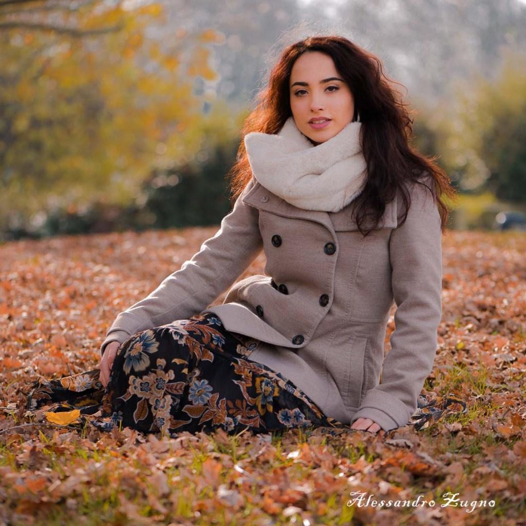 Abbigliamento invernale per servizio fotografico