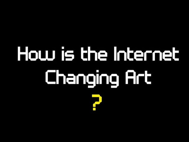 Electronic Superhighway: how has the internet changed art? - image  on http://www.alessiacamera.com