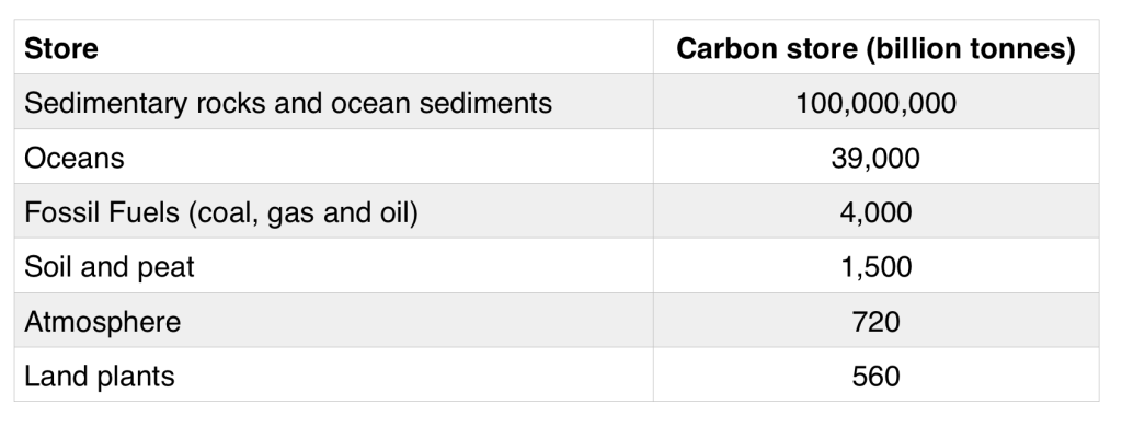 Carbon Stores