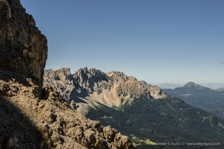Latemar View -- Passo Coronelle, Rosengarten, South Tyrol, Italy
