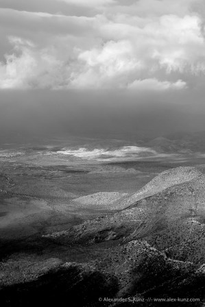 Fade to Grey -- Laguna Mountains, San Diego County, California, United States