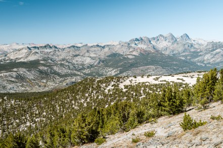 Leaving the Mesa -- Mammoth Crest, Mammoth Lakes, California, United States