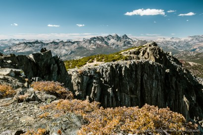 Northwest View -- Mammoth Crest, Mammoth Lakes, California, United States