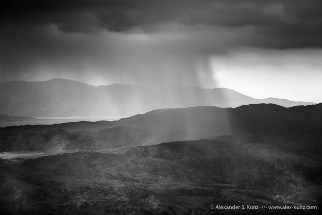 Summer Monsoon over the Anza Borrego Desert, Southern California.