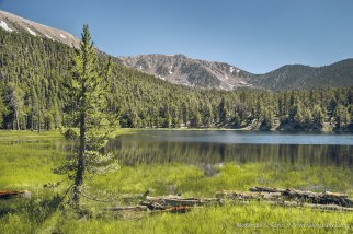 Dry Lake -- San Gorgonio Wilderness, San Bernadino National Forest, California, USA