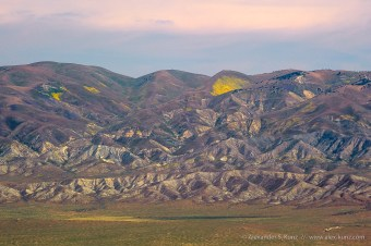 Temblor Range -- Carrizo Plain, San Luis Obispo County, California, USA