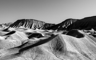Elephant Knees & Mud Hills -- Mud Hills Wash, Anza Borrego Desert State Park, California, United States