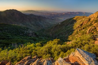 Storm Canyon -- Fosters Point, Laguna Mountains, California, USA