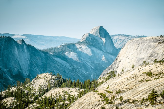 Half Dome View 2 -- Olmsted Point, Yosemite NP, California, United States