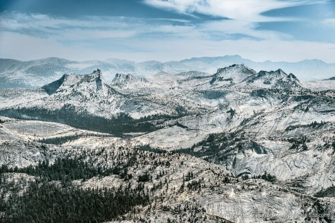 Cathedral & Cockscomb View -- Mount Hoffmann, Yosemite NP, California, United States