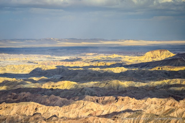 Carrizo Badlands & Superstition Mountains -- Mine Peak, Anza Borrego Desert/Coyote Mount, California, United States