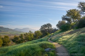On the Highland Valley Trail -- Rancho Bernardo, San Diego, California