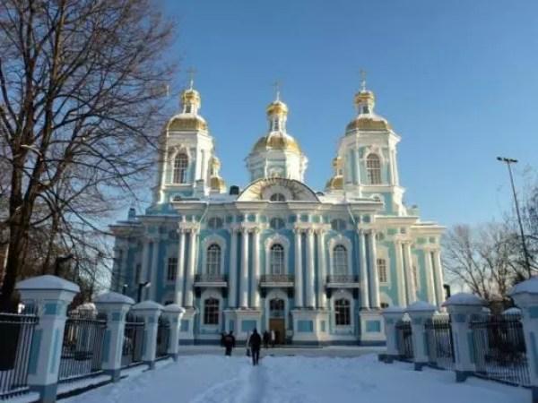 Silvester in St. Petersburg: Nikolaus-Marine-Kathedrale