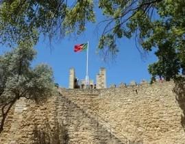 Castelo de Sao Jorge in Lissabon