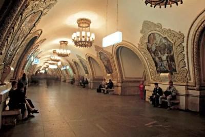 <strong>Moskauer Metro</strong>