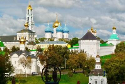 Sergijew Possad zum Dreifaltigkeitskloster