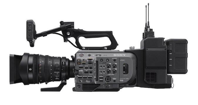 Sony FX9 with XDCA extension unit