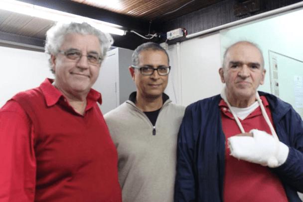 Participantes - Álvaro Frota, Jeferson de Mello Menezes e Carlos Alves Rolim