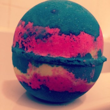 bath bomb from lush