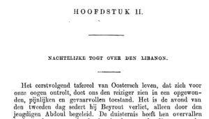 Nederlandse uitgave (1861), opening hoofdstuk 2
