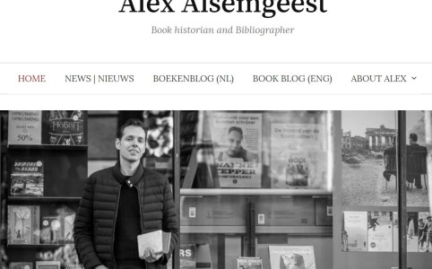 Frontpage of www.alexalsemgeest.nl