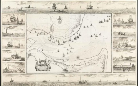 Postal map of Jacob Quack
