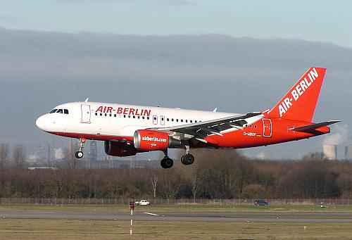 Arcturus - Air Berlin - Airbus A319 (Wikipedia GNU 1.2)