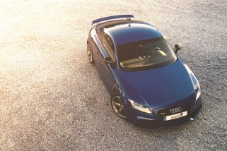 Audi TTRS glow