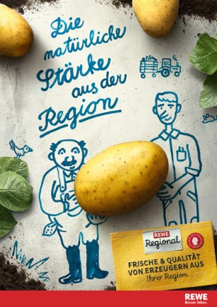"""REWE Regional """"Kartoffel"""""""
