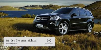 Mercedes Benz GL-Klasse Plakat 18/1
