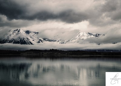 Landscapes in the Tetons